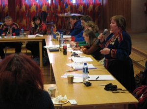 Ruoššabeale sámiid ovddasteaddjit olgebealde